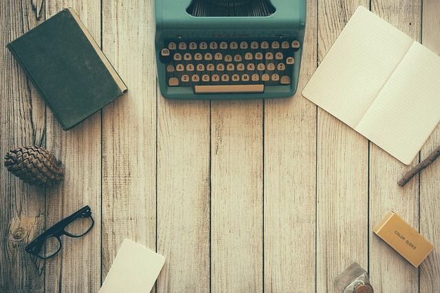 typewriter and reviewers