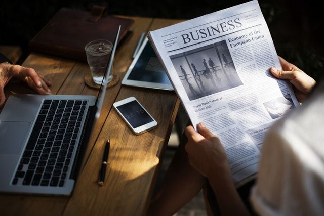 read newspapers as a preparation