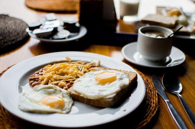 always eat breakfast before any exam