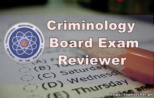 criminology board exam reviewer