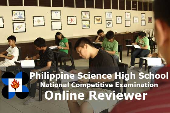 students taking pshs entrance exam