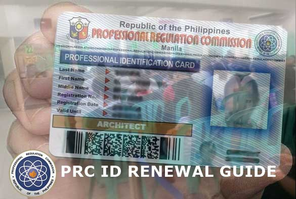 PRC online processing of ID renewal