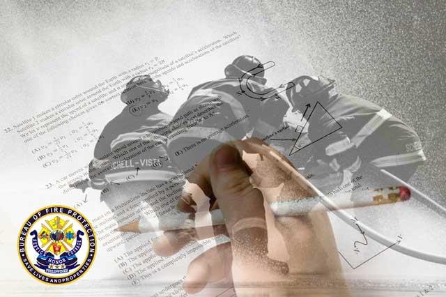 examinee taking the bfp qualifying exam
