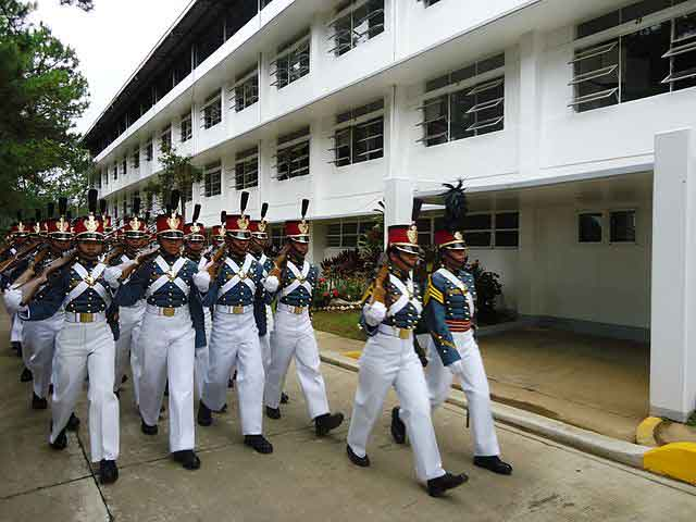 PMA Cadets on formation