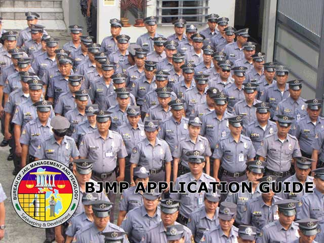 newly-promoted BJMP personnel