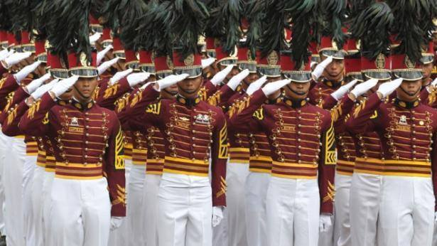 PNPA Cadets in formation