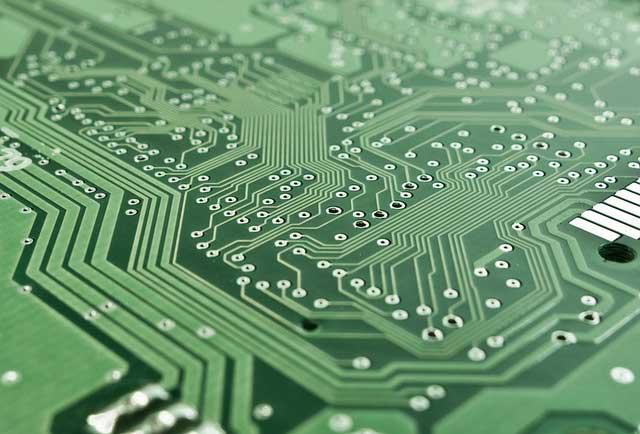 electronics printed circuit board