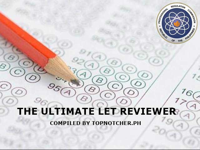 The Ultimate LET Reviewer 2019 (Gen  Ed, Prof  Ed  and Major)
