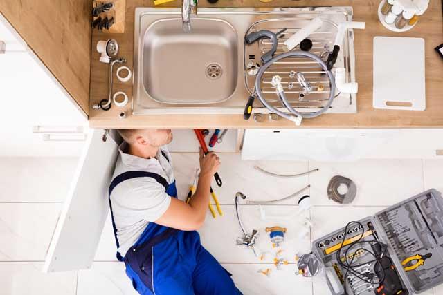 a master plumber at work