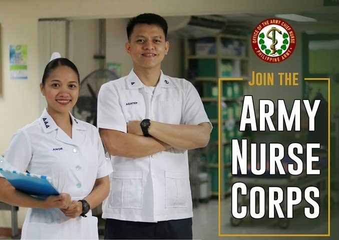 members of nurse corps