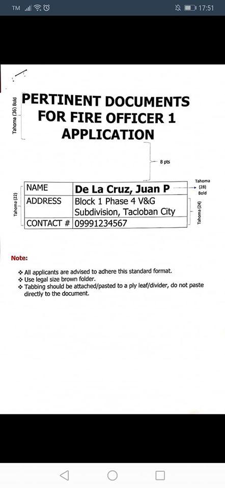 Application folder format