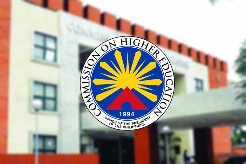 Ched building with logo