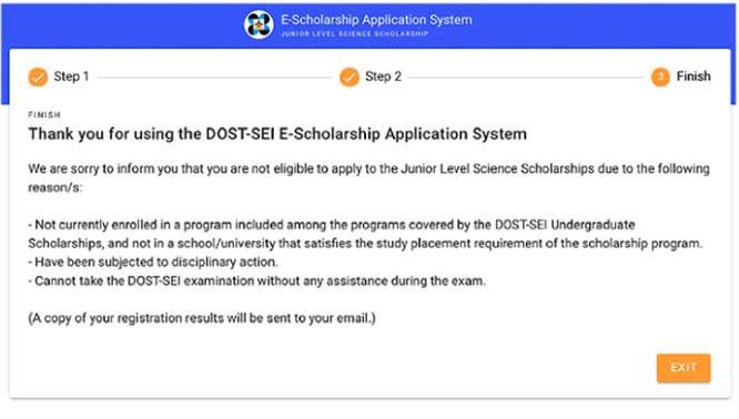 DOST-SEI JLSS Online 5