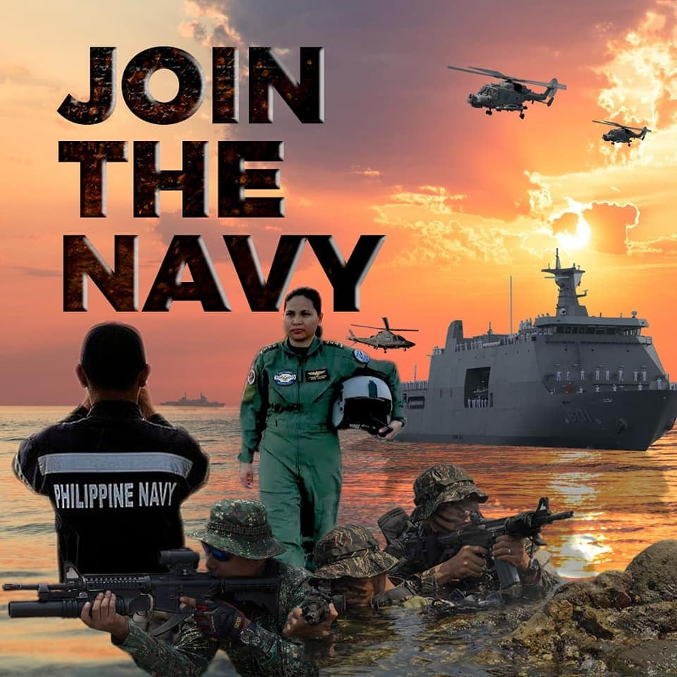 Join the PH Navy Poster